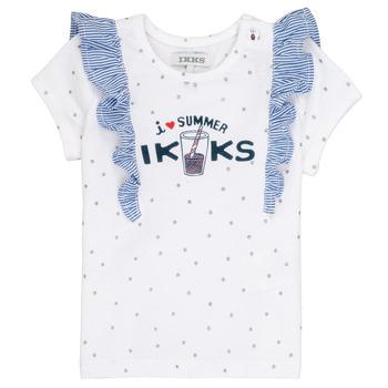 Kleidung Mädchen T-Shirts Ikks HILONA Weiß