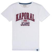 Kleidung Jungen T-Shirts Kaporal ERNIE Weiß