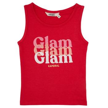 Vêtements Fille Débardeurs / T-shirts sans manche Kaporal JUIN Rouge