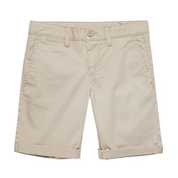 Vêtements Garçon Shorts / Bermudas Teddy Smith SHORT CHINO Beige