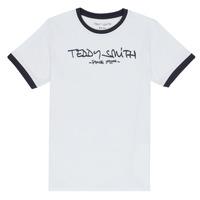 Vêtements Garçon T-shirts manches courtes Teddy Smith TICLASS 3 Blanc