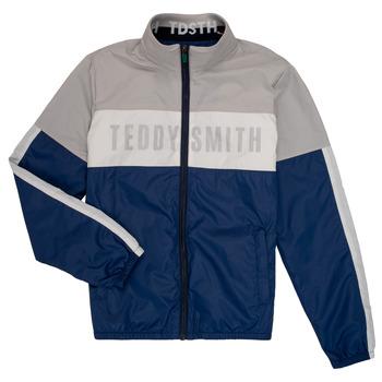 Vêtements Garçon Blousons Teddy Smith HERMAN Gris / Marine