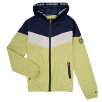 Vêtements Garçon Blousons Teddy Smith SNIL Marine / Blanc / Vert