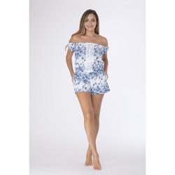 Vêtements Femme Combinaisons / Salopettes La Cotonniere COMBI-SHORT SONIA Multicolore