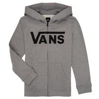 Vêtements Garçon Sweats Vans BY VANS CLASSIC ZIP HOODIE Gris