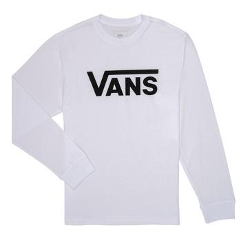 Vêtements Enfant T-shirts manches longues Vans BY VANS CLASSIC LS Blanc