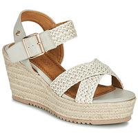 Chaussures Femme Sandales et Nu-pieds Refresh LILIOU Beige / Cognac