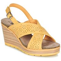 Schuhe Damen Sandalen / Sandaletten Refresh RILO Gelb