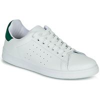 Chaussures Femme Baskets basses Yurban SATURNA Blanc/vert