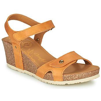 Schuhe Damen Sandalen / Sandaletten Panama Jack JULIA Gelb