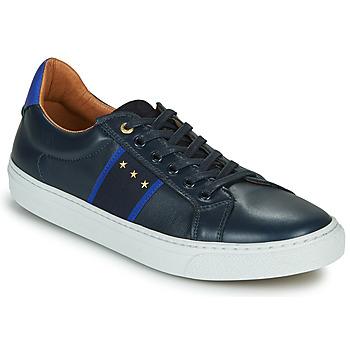 Schuhe Herren Sneaker Low Pantofola d'Oro ZELO UOMO LOW Blau