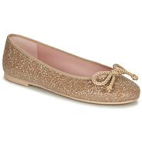 Schuhe Damen Ballerinas Pretty Ballerinas BELLE SAND Golden
