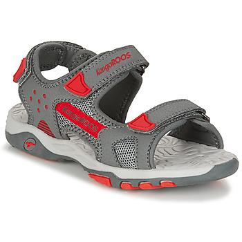 Schuhe Jungen Sandalen / Sandaletten Kangaroos K-CELTIC Grau / Orange