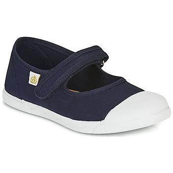 Schuhe Kinder Ballerinas Citrouille et Compagnie APSUT Blau / Marineblau