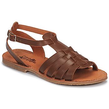 Schuhe Mädchen Sandalen / Sandaletten Citrouille et Compagnie MINIBOU Braun,