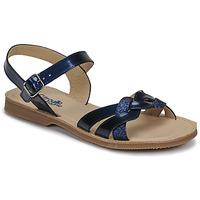 Schuhe Mädchen Sandalen / Sandaletten Citrouille et Compagnie MADELLE Marineblau