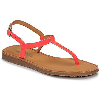 Chaussures Fille Tongs Citrouille et Compagnie MIZZA fluo