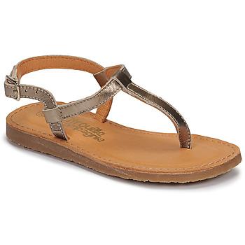 Schuhe Mädchen Zehensandalen Citrouille et Compagnie MIZZA Golden