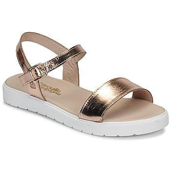 Chaussures Fille Sandales et Nu-pieds Citrouille et Compagnie GAPOTI Bronze