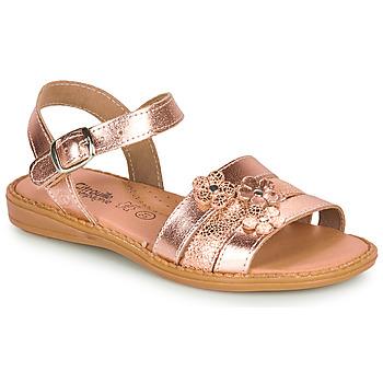 Schuhe Mädchen Sandalen / Sandaletten Citrouille et Compagnie KATAGUE Bronze