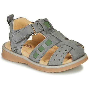 Chaussures Garçon Sandales et Nu-pieds Citrouille et Compagnie MERKO Kaki