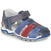 Chaussures Garçon Sandales et Nu-pieds Citrouille et Compagnie MARIDO Bleu