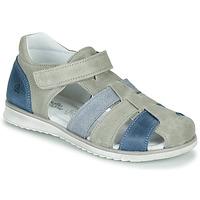 Schuhe Jungen Sandalen / Sandaletten Citrouille et Compagnie FRINOUI Grau