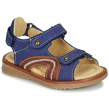 Chaussures Garçon Sandales et Nu-pieds Citrouille et Compagnie MASTIKO Bleu