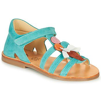 Chaussures Fille Sandales et Nu-pieds Citrouille et Compagnie MIETTE Vert