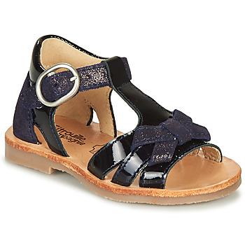 Schuhe Mädchen Sandalen / Sandaletten Citrouille et Compagnie MOLINETTE Marineblau