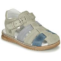 Schuhe Jungen Sandalen / Sandaletten Citrouille et Compagnie ZIDOU Grau