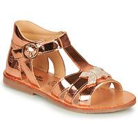 Chaussures Fille Sandales et Nu-pieds Citrouille et Compagnie MINIMOME Bronze