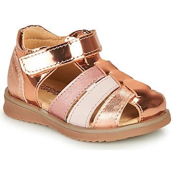 Schuhe Mädchen Sandalen / Sandaletten Citrouille et Compagnie FRINOUI Bronze