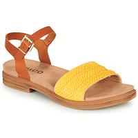 Chaussures Femme Sandales et Nu-pieds IgI&CO 5170711 Jaune