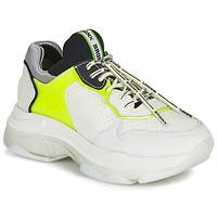 Chaussures Femme Baskets basses Bronx BAISLEY Blanc / Jaune