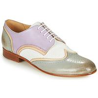 Chaussures Femme Derbies Melvin & Hamilton SALLY 15 Bleu / Blanc / Beige