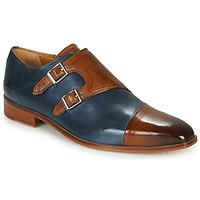 Schuhe Herren Richelieu Melvin & Hamilton LANCE 34 Blau / Braun,