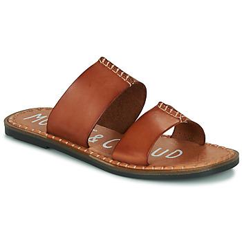 Schuhe Damen Pantoffel Musse & Cloud LESLIE Kognac