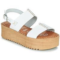 Schuhe Damen Sandalen / Sandaletten Musse & Cloud KILA Weiß