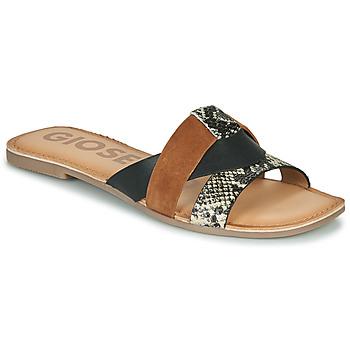 Schuhe Damen Pantoffel Gioseppo LANTANA Kognac
