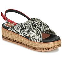 Chaussures Femme Sandales et Nu-pieds Gioseppo NEVELE Noir / Rouge