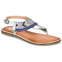 Schuhe Mädchen Sandalen / Sandaletten Gioseppo BERMUDAS Blau / Weiß