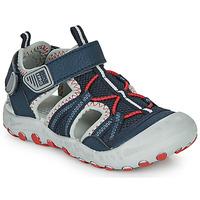 Schuhe Jungen Sportliche Sandalen Gioseppo MAZATLAN Marineblau / Rot