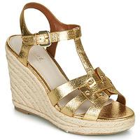 Chaussures Femme Sandales et Nu-pieds André PERLINE Or