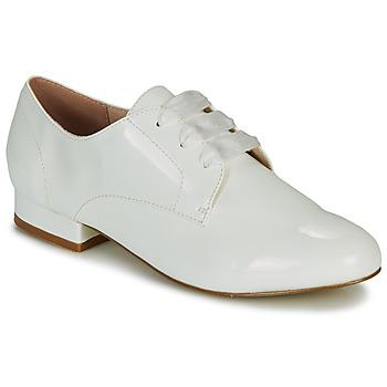 Chaussures Femme Derbies André ERNESTINE Blanc