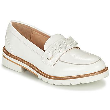 Chaussures Femme Mocassins André EMA Blanc