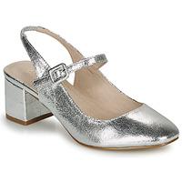 Chaussures Femme Ballerines / babies André JONNA Argent
