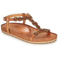 Chaussures Femme Sandales et Nu-pieds André ETHEL Camel
