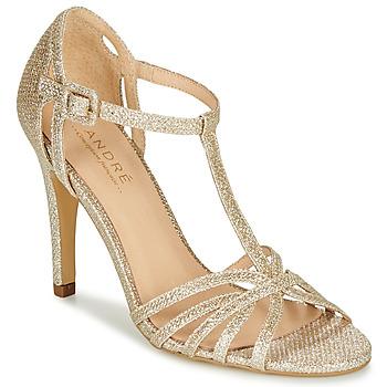 Chaussures Femme Escarpins André JOY Or