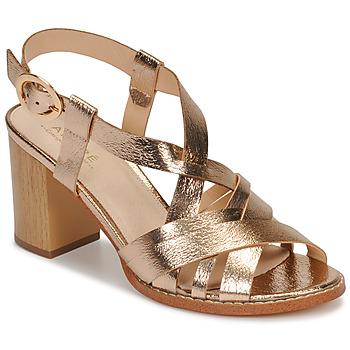 Chaussures Femme Sandales et Nu-pieds André PAYTON Or